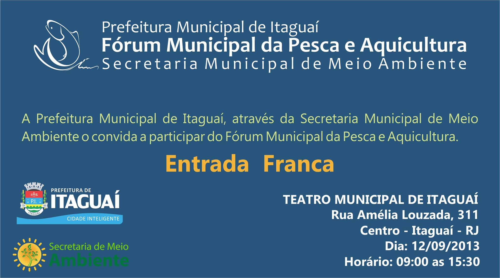 Fórum Municipal da Pesca e Aquicultura